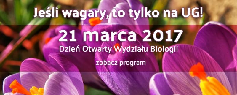 Dzień Otwarty Wydziału Biologii