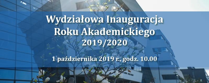 Wydziałowa Inauguracja Roku Akademickiego