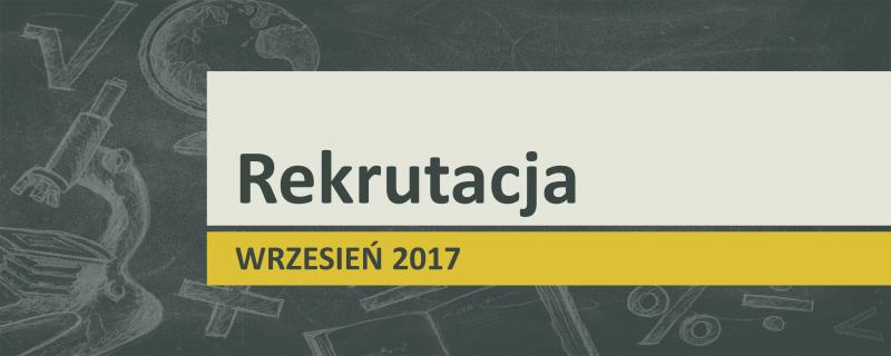 Rekrutacja 2017