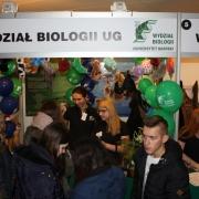 Stoisko  Wydziału Biologii było zlokalizowane  na Wydziale Prawa i Administracji.