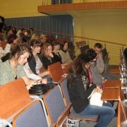 """21.10.2011r, Wydział Biologii, wykład: prof. UG, dr hab. M. Sęktas - """"Zmysłowe bakterie"""""""