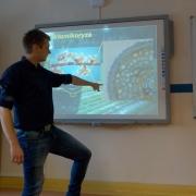 """V LO w Wejherowie, wykład dr inż. Marcina Pietrasa - """"Ile grzybów jest w gramie gleby?"""""""