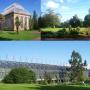 Ogród Botaniczny w Edynburgu, rozległy teren o powierzchni ponad 70 akrów dzieli się na zewnętrzną, otwartą część oraz szklarnie z gatunkami klimatów cieplejszych