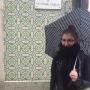 Paulina w deszczowy dzień w Aveiro