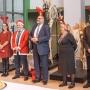 Święty Mikołaj w towarzystwie reniferów